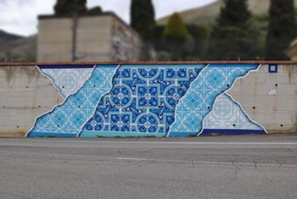 La strada diventa arte tra decorazione e utilità noi siamo futuro