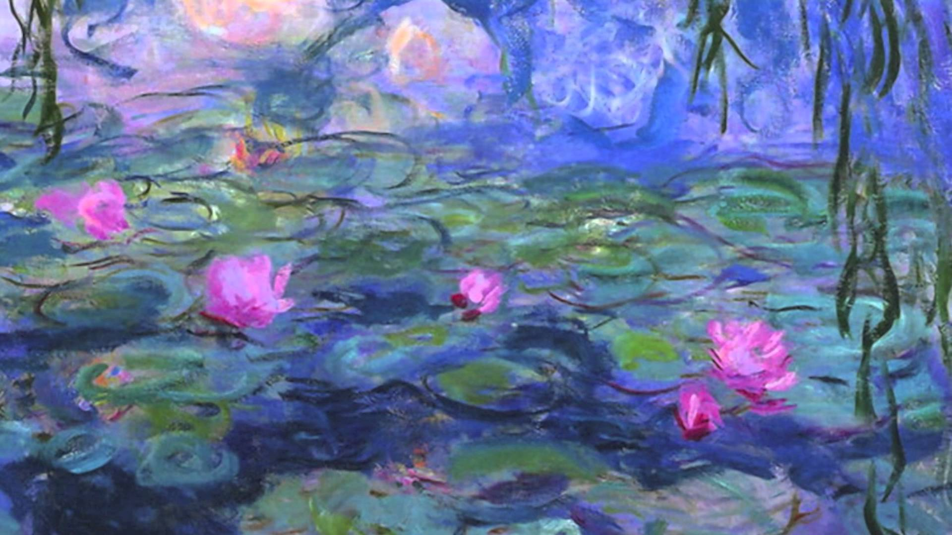 Famous Paintings Of Blue Flowers